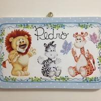Plaquinha Porta Maternidade/Quarto Criança