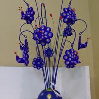 Chuva de Pavão Azul