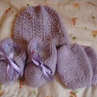 Conjunto lilás