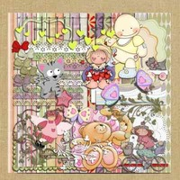 Kit Para Scrapbook Digital #037