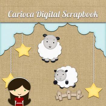 Kit para scrapbook digital 224 good night mlb o 3953278829 032013