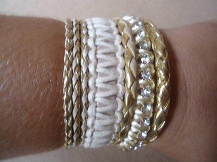 Bracelete mesclado em tons de bege 1371901470263 big