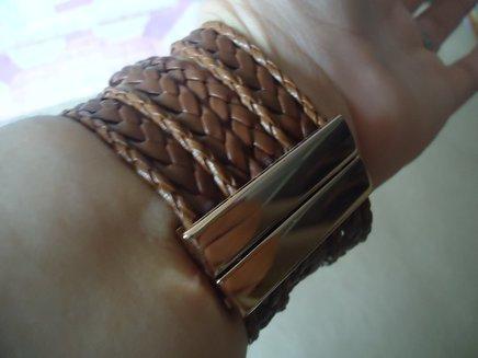 Bracelete courinho terra com strass 1371915770461 big
