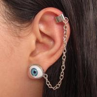 Ear Cuff Olho Azul