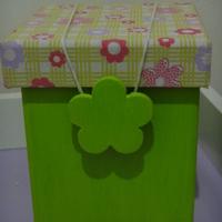 Kit verde e rosa