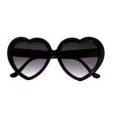 Oculos de sol Coração preto