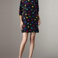 Vestido de bolinhas - 4045