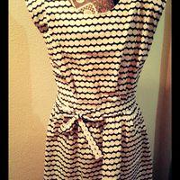 Vestido Vintage Bolinhas
