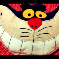 Almofada Gato de Cheshire