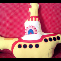 Almofada Yellow Submarine