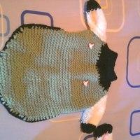 Roupa de lã PET com manga