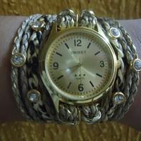 Relógio Bracelete oncinha