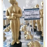 Lembrancinha Estatueta do Oscar
