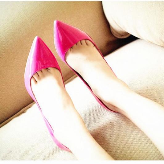 Scarpin 1 rosa 3