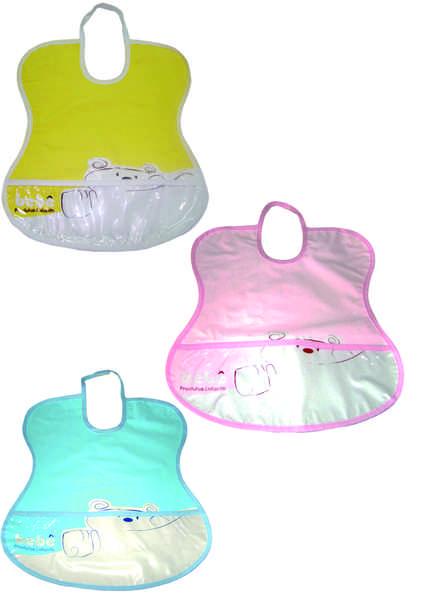 Babeiros com bolso frontal   3 cores