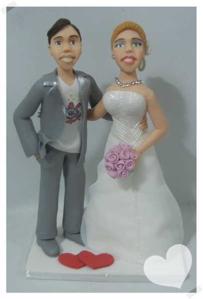 Casal simples humanizado