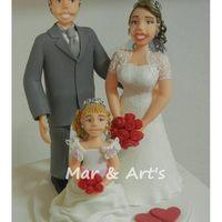 Casal com Daminha ou Pagem
