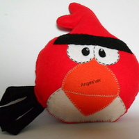 Almofada em feltro Angry Birds