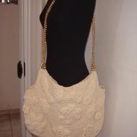 Bolsa de crochê Camila