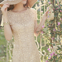vestido de perola