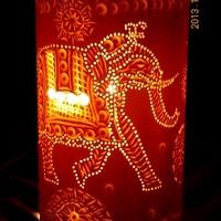 Luminária Elefante indiano