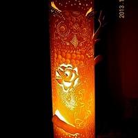 Luminária coruja