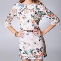 Vestido Borboleta