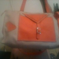 bolsa para viajem em couro