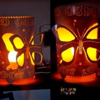 Luminária borboletas