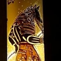 luminárias egípcia