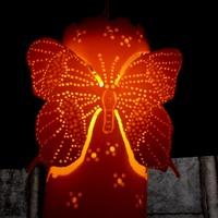 Luminária de teto  borboletas
