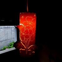 Luminária de teto  flores