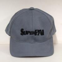 Boné cinza Super Pai