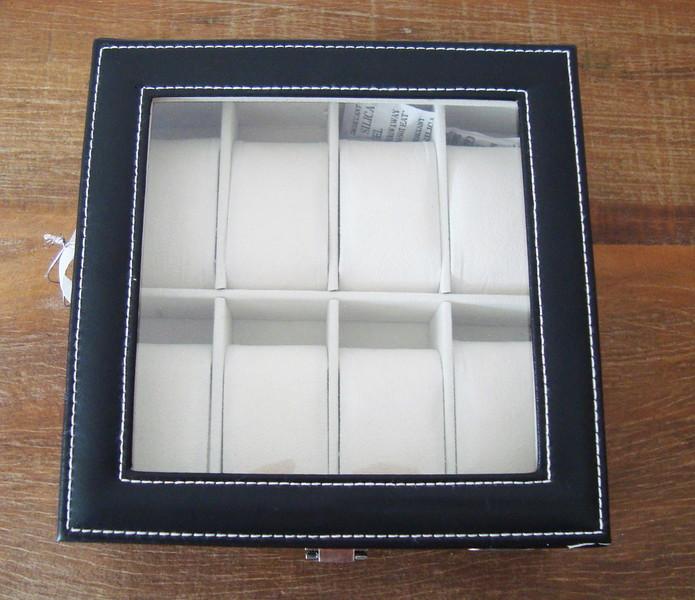 Caixa de relogios masculino caixa
