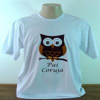 Camiseta Pai coruja (P)