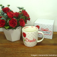 Caneca Happy Days Dinda