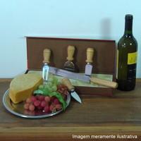 Conjunto de faca para patê Pão francês
