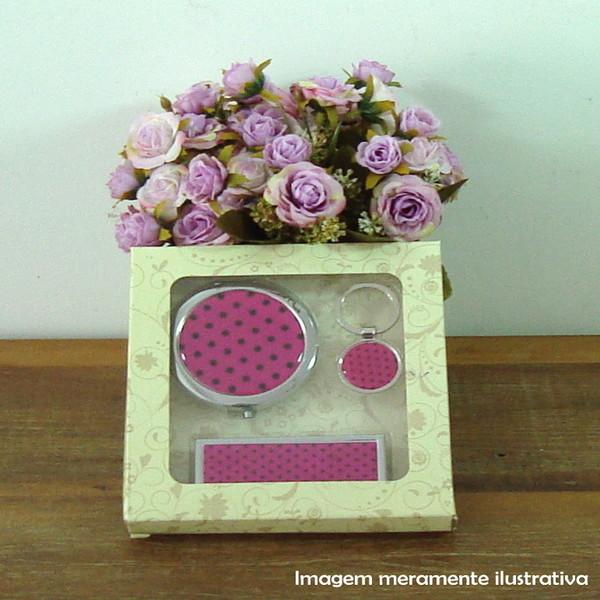 Kit 3 pecas pink pink