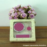 Kit 3 peças Pink