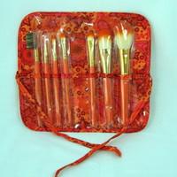 Kit Pincel de maquiagem laranja Jacky design