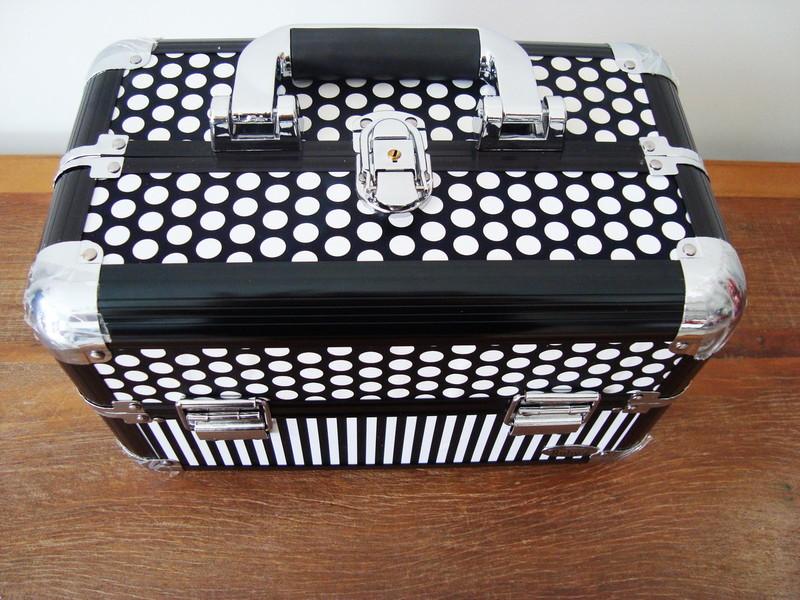 Maleta de maquiagem grande maleta