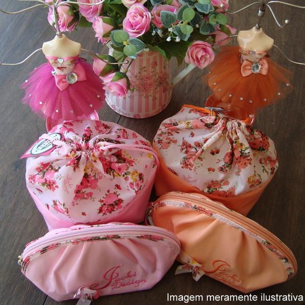 Manequim jacki design laranja maleta