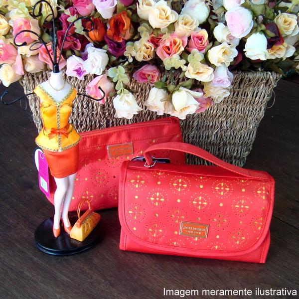 Necessaire feminina melancia maleta