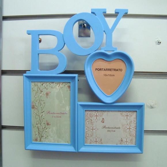 Porta retrato boy porta retrato azul