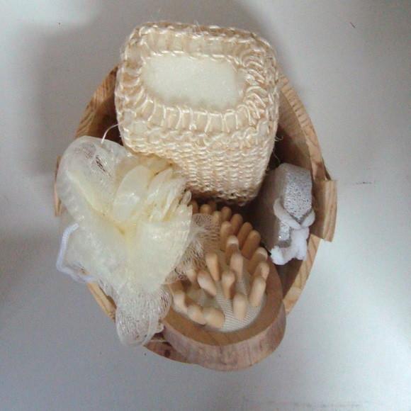 Kit para banho com 4 pecas kit de banho