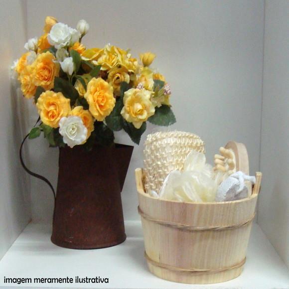 Kit para banho com 4 pecas presente