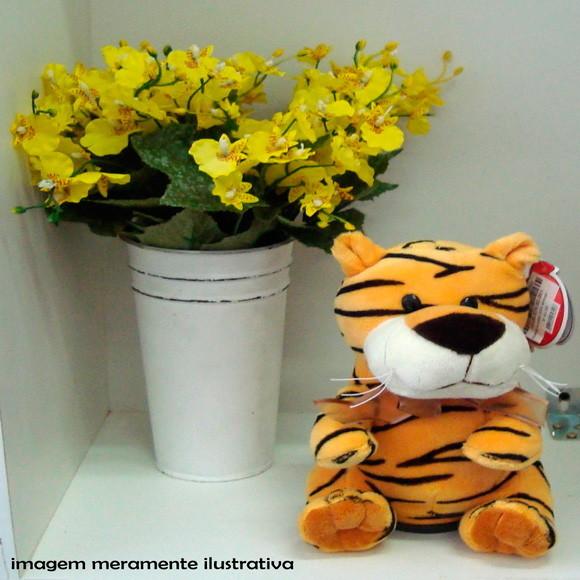 Cofre musical pelucia tigre cofre