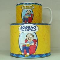 Caneca porcelana Sogrão.