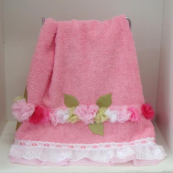 Toalha rosa 1 elo