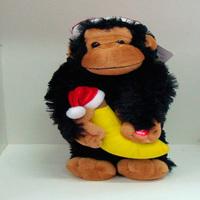 Macaco de Natal Dançante.